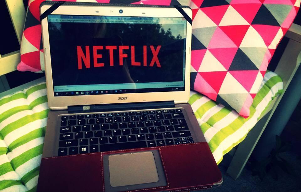 Series en films kijken op laptop