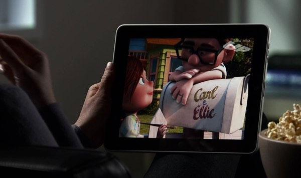 Series en films kijken op tablet